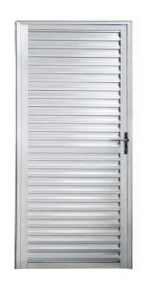 Porta Palheta Alumínio Brilhante L25 2,10 X 0,90