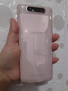 Celular Samsung Galaxy A80 Ouro Rosê 128 Gigas 8 De Ram.