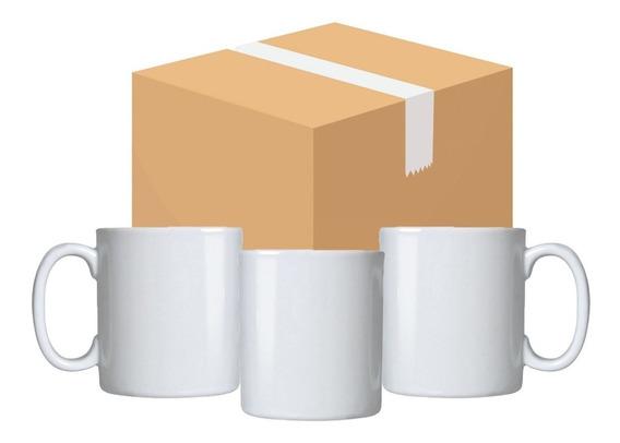 15 Canecas Cerâmica Branca Aaa + 15 Caixinhas - P/sublimação