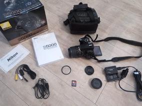 Câmera Nikon D5000 / 14.822 Clicks + Acessórios