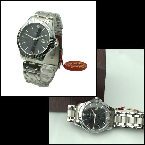 Relógio Masculino Pointer Original Social Luxo.