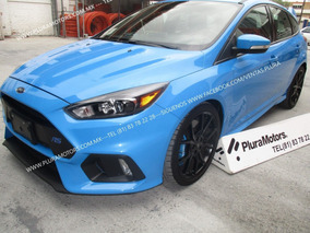 Ford Focus 2017 Rs Std Quemacocos Piel Clima Gps $559,000