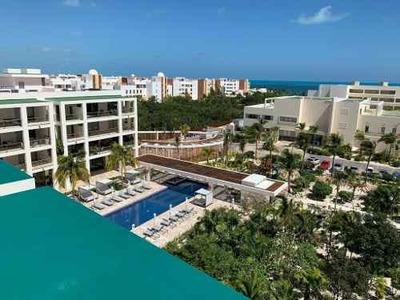 Se Vende Departamento A Pie De Playa En Exclusivo Complejo Residencial De Cancún, Quintana Roo