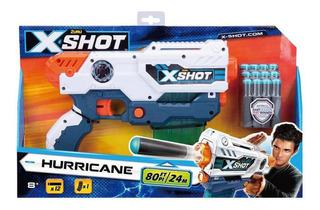 Pistola De Dardos X-shot Hurricane 3693 Educando