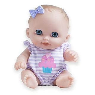 Jc Toys Lil Cutesies Todo En Vinilo Lavable Muneca Baby Doll