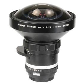 Objetiva Nikon 8mm Fisheye F2.8 Auto