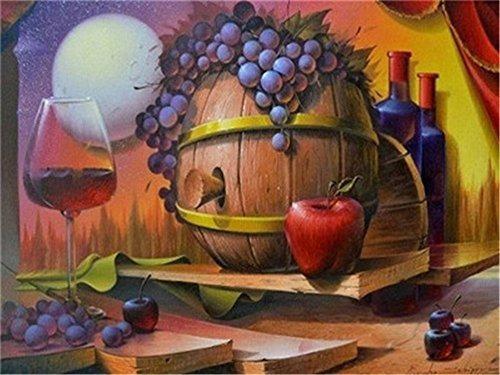 Imagen 1 de 1 de Diy Pintura Al Oleo Por Kit De Numeros Para Adultos Princi