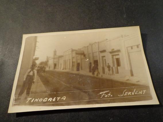 Tinogasta- Catamarca- Real Foto Circa 1945-foto Servet