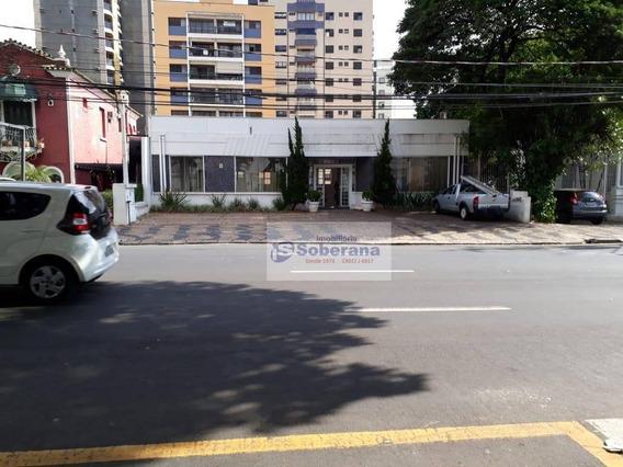Casa Para Alugar, 432 M² Por R$ 25.000/mês - Cambuí - Campinas/sp - Ca3420