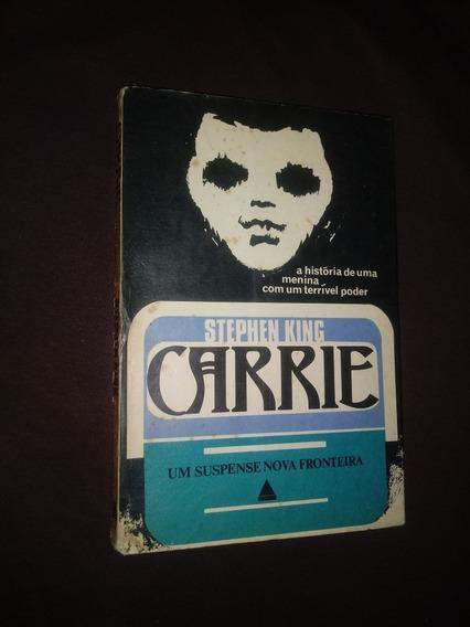 Carrie - Stephen King / Primeira Edição - Nova Fronteira