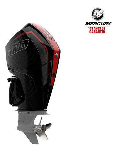 Motor Popa Mercury 4t 300hp R L V8 Dts Verado Racing Física