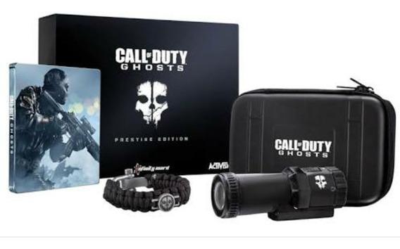 Call Of Duty Ghosts Prestige Edition Ps3 Câmera Tática 1080