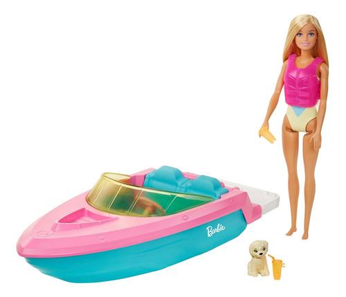 Barbie Estate, Lancha Con Muñeca