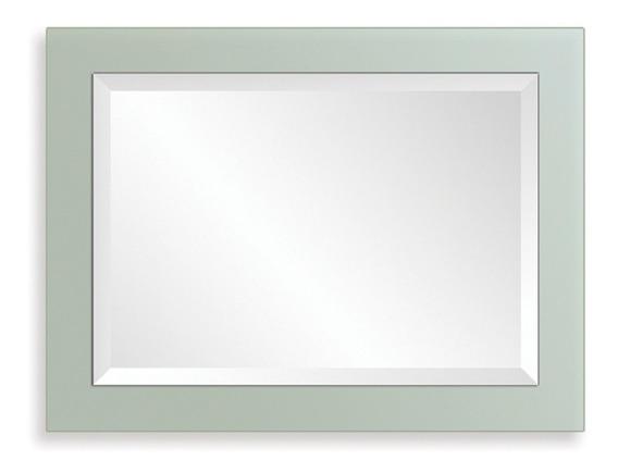 Espejo Moderno 60x80 Reflejar Arenado Diseño Baño Living