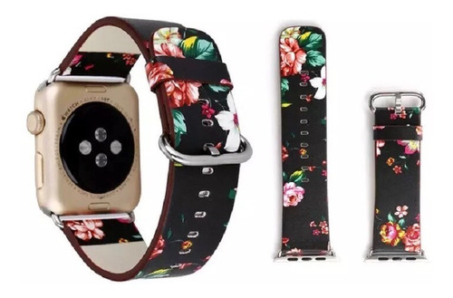Pulso Flores Apple Watch 42 Mm