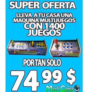 Maquinas De Cosmos Multijuegos Arcade 1400 Juegos