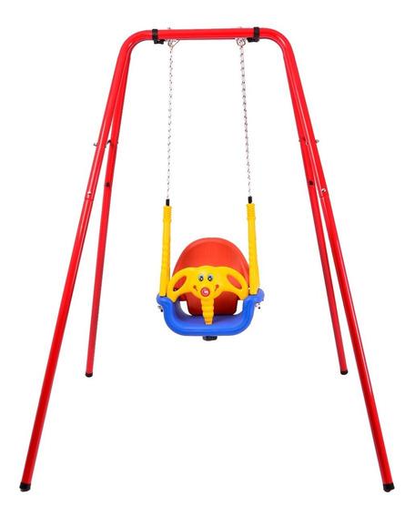 Portico Con Hamaca De Bebe Elefantito 170cm. Planeta Juguete