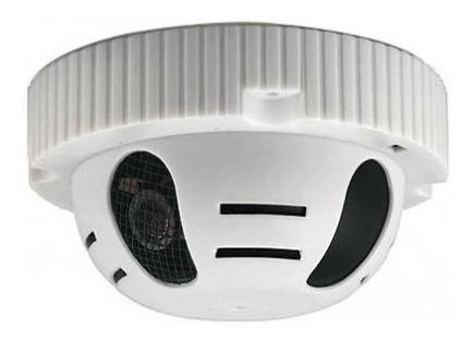 Camara Seguridad En Detector Humo Espia Hd Analogica 720p