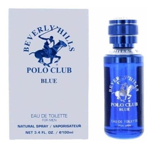 Perfume Beverly Hills Polo Club Blue Masculino 100ml