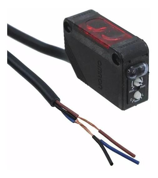 E3z-d61 Sensor Fotoeletrico Difuso 100mm 12~24vcc 100ma Npn