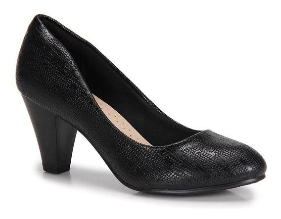 Sapato Scarpin Feminino Mooncity Facinelli 62304 Promoção