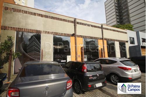 Imagem 1 de 11 de Salão Comercial Com Ampla Vitrine E Espaço Para Estacionamento Na Vila Mariana. - Dp4017
