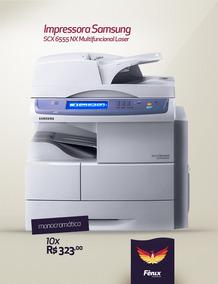 Impressora Samsung Scx 6555 Nx Multifuncional Laser