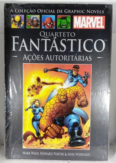 Quarteto Fantástico Ações Autoritárias Hq Marvel