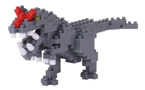 Nanoblock Dinosaurio Alosaurio Juguete Rompecabezas Jurassic
