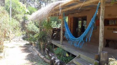 Hermosa Casa En La Paloma En Alquiler ,hecha En Barro