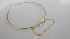 Bracelete 0co 3,5 Gr 18k Com Correntinha