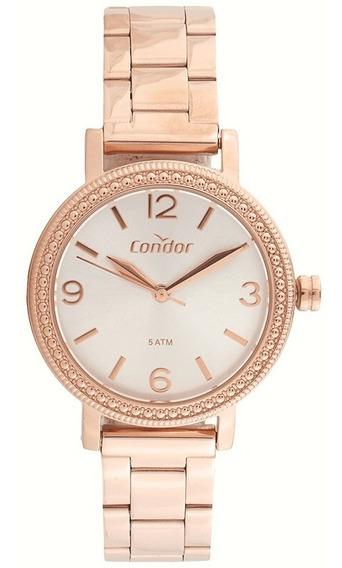 Relógio Condor Feminino Eterna Rosé Co2035mun/4j