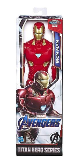 Boneco Titan Hero Power Fx 2.0 Homem De Ferro Avengers