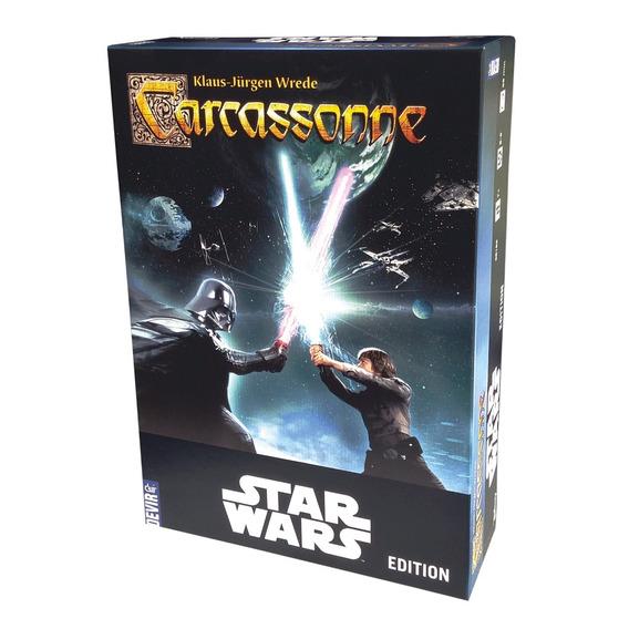Jogo Carcassonne Star Wars Edition - Devir - Bonellihq L18