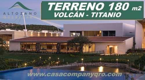 Se Vende Terreno En Altozano De 180 M2 - Titanio, Rodeado De Áreas Verdes !!