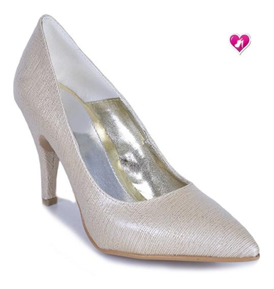 Stilletto Punta Fina Taco Bajo Modelo Tango De Shoes Bayres
