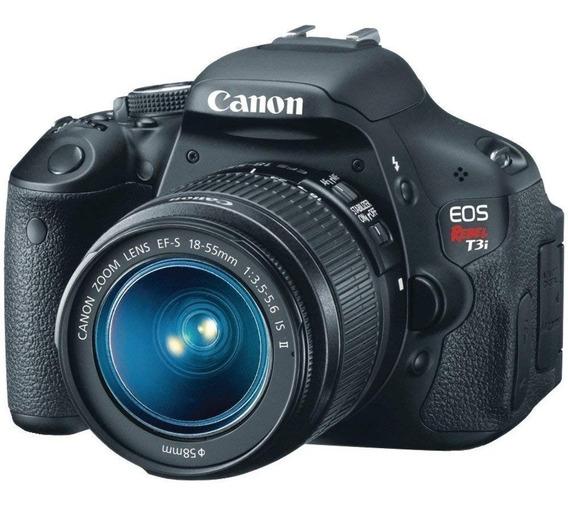 Canon T3i Dslr Lente Tamron 18-200 + Acessórios Frete Grátis
