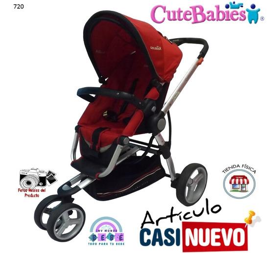 Coche Cutebabies 3 Ruedas Impecable.-