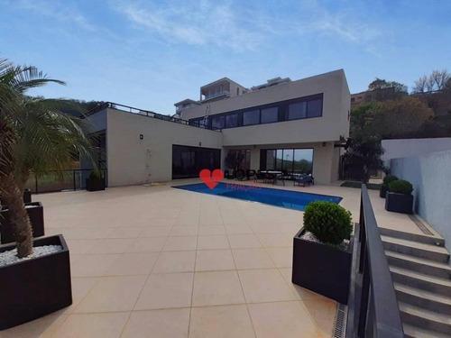 Imagem 1 de 30 de Casa De Alto Padrão  Condomínio Porto Atibaia - Ca0407