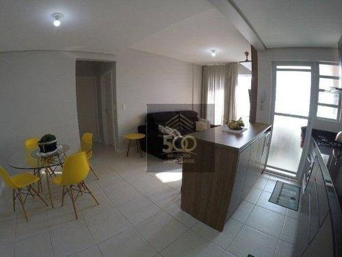 Imagem 1 de 20 de Apartamento Com 2 Dormitórios À Venda, 70 M² Por R$ 541.000,00 - Capoeiras - Florianópolis/sc - Ap2428