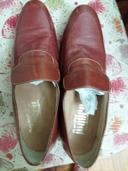 Zapatos / Mocasines De Hombre Cacharel N. 37 Sin Uso