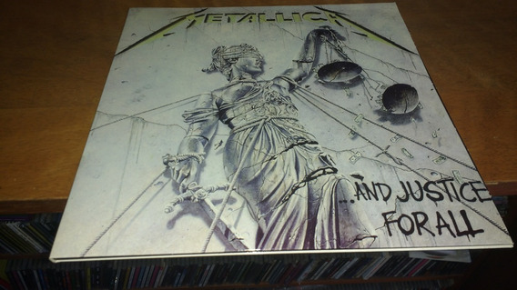 Metallica And Justice For All Lp Vinilo Blanco