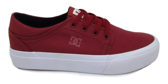 Tenis Dc Shoes Youth Trase Tx Adbs300083 Drd Deep Red