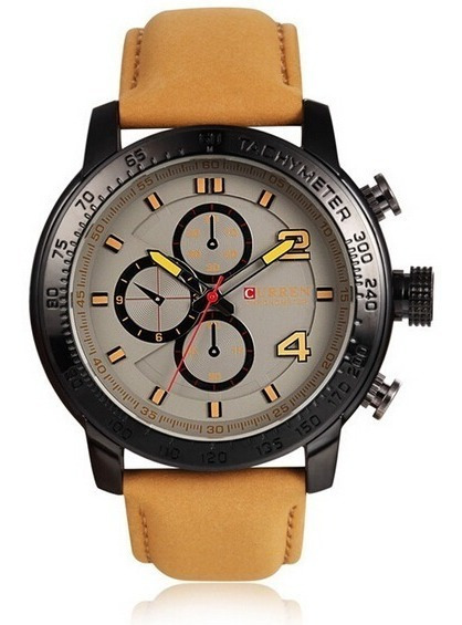 Relógio Curren Original 8190 Luxo Novo Barato Imperdível