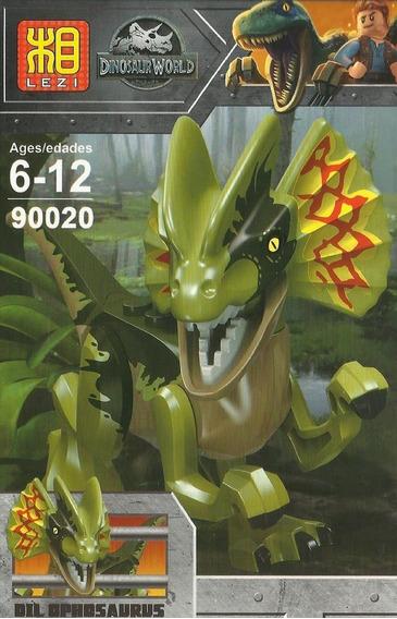 Minifiguras Armables Lezi90020 Dinosaurios