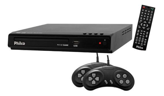 Reprodutor De Imagem Philco Usb Game Joysticks Cd-r Mp3 Wma