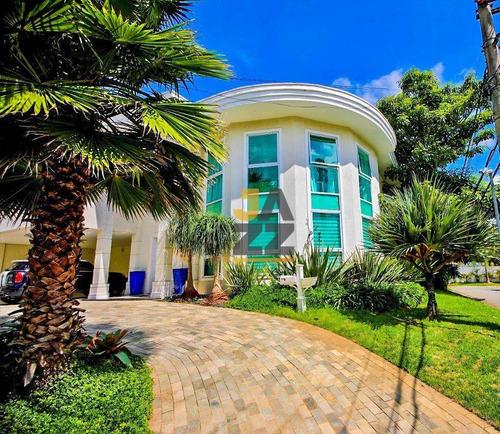 Imagem 1 de 30 de Casa Com 4 Suítes* 4 Vagas  À Venda, 570 M² Por R$ 4.200.000 - São Paulo Ii - Cotia/sp - Ca14570