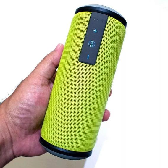 Caixa De Som Bluetooth Portátil Jump Resistente A Água