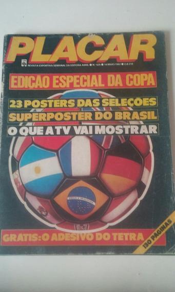 Revista Placar N 625 Edicao Historica Barbada
