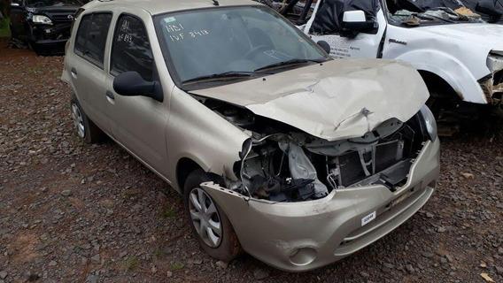 Sucata Renault Clio 1.0 Flex 2014 Rs Caí Peças
